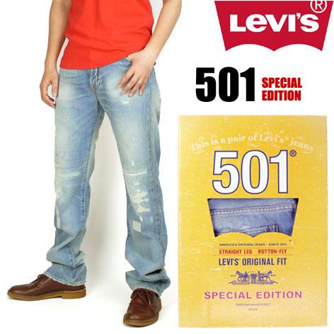 【送料無料】 LEVI'S (リーバイス) 00501/クラフト -501DAYスペシャルエディション with グラフィックバナー-Straight Leg/Button-Fly 【smtb-k】【ky】