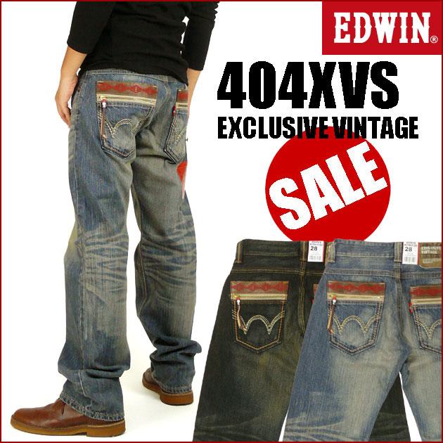 EDWIN (Edwin ) 404 XVS WESTERN ZIP MODEL ウエスタンジップ model-EXCLUSIVE VINTAGE-