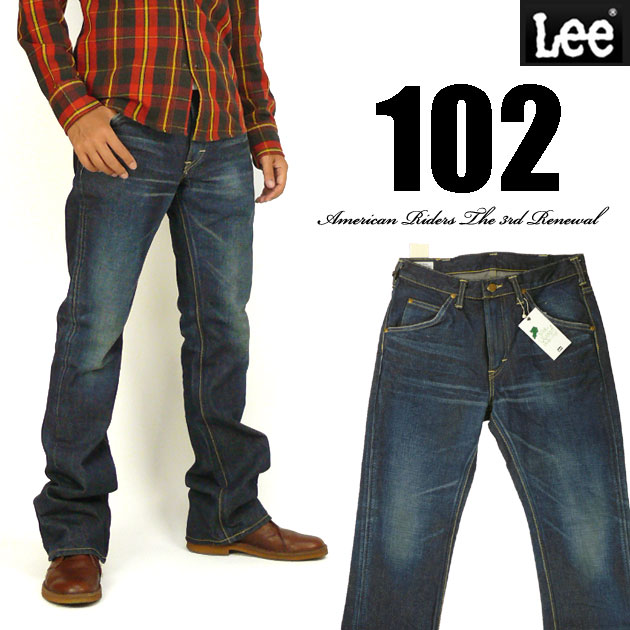 Lee リー メンズ メンズ ジーンズ 102 ブーツカット リー ブーツカット 濃色ユーズドブルー Lee RIDERS AMERICAN RIDERS 日本製 LM5102-526, フェトデポムりんごの宴:0947e040 --- officewill.xsrv.jp