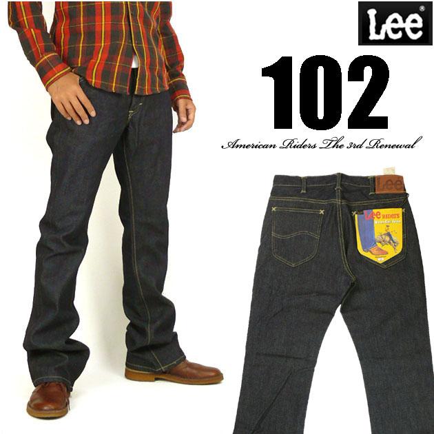 Lee リー メンズ ジーンズ 102 ブーツカット ワンウォッシュ LM5102-500 Lee RIDERS AMERICAN RIDERS 送料無料