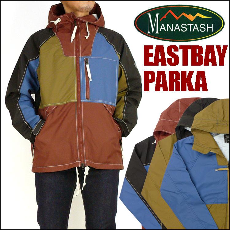 セール MANASTASH (マナスタッシュ) EASTBAY PARKA -イーストベイパーカー/マウンテンパーカー- 春物 7152005