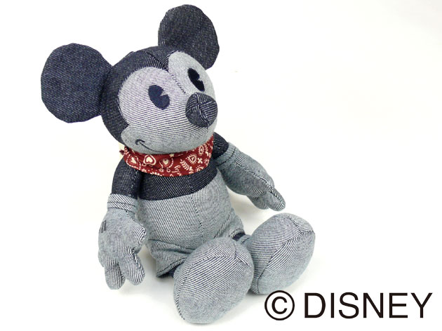 EDWIN ★ Disney - denim Mickey Mouse - VINTAGE MICKEY QNAK10