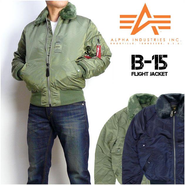 ALPHA (アルファ) B-15 タイト フライトジャケット TA0612 【送料無料】 mtj-ha