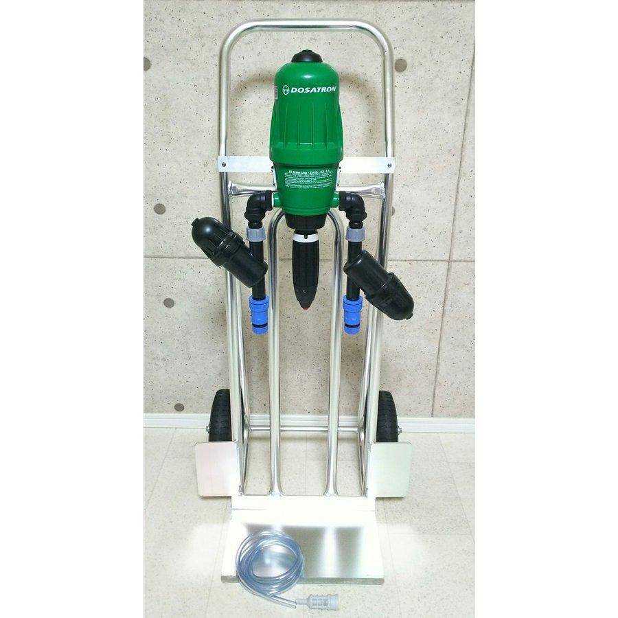サンフレックスAQUA液肥自動混入器ドサトロンD-03GL キャリーセット