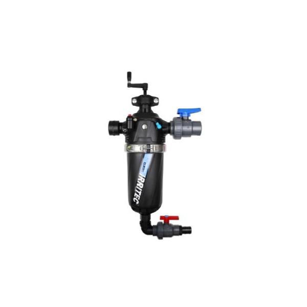 イリテック2インチ 50mm半自動洗浄スクリーンフィルター(使用水圧Max:1.0MPa)