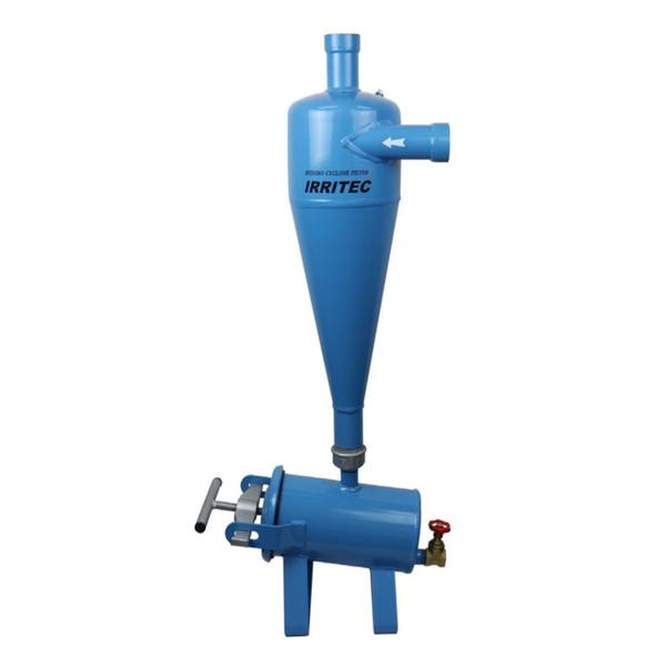 イリテックハイドロサイクロンフィルター(使用水圧Max : 0.8MPa) HSK-50 50mm