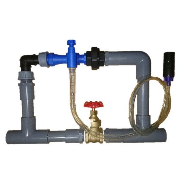 サンフレックスAQUA液肥注入器ブルーインジェクター(流量計付)SQ-40-R