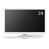 【17周年クーポン配布中 2/28 9:59迄】LCD-AS242W 日本電気 24型ワイド液晶ディスプレイ FHD 白 ホワイト 液晶モニター NEC フルHD