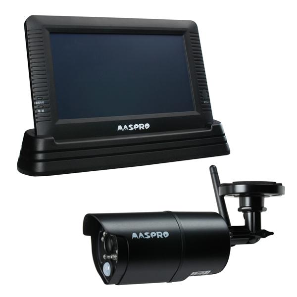 【最大5%クーポン配布中】【5年延長保証購入可能】WHC7M マスプロ電工 モニター&ワイヤレスHDカメラセット