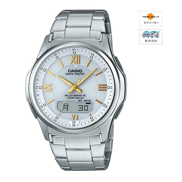 クーポン配布中 新品 国内正規品 CASIO カシオ wave MULTIBAND6 WVA-M630D-7A2JF ソーラー電波時計 ceptor 爆買いセール 高品質新品 腕時計