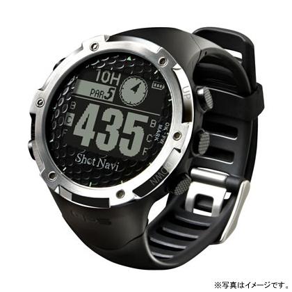 【17周年クーポン配布中 2/28 9:59迄】【特典付き】W1-FW-B テクタイト Shot Navi ブラック 腕時計型タイプ ショットナビ