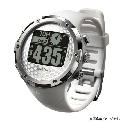 【17周年クーポン配布中 2/28 9:59迄】【特典付き】W1-FW-W テクタイト Shot Navi ホワイト 腕時計型タイプ ショットナビ