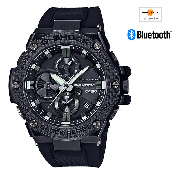 【割引クーポン配布 1/16 9:59迄】【新品】【国内正規品】CASIO/カシオ GST-B100X-1AJF G-SHOCK G-STEEL Carbon Edition Bluetooth通信機能 腕時計 ◆