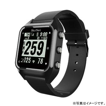 【17周年クーポン配布中 2/28 9:59迄】HUG-B テクタイト Shot Navi HuG ブラック 腕時計型タイプ