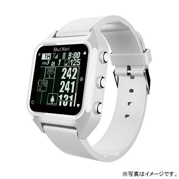 【最大5%クーポン配布中】HUG-W テクタイト Shot Navi HuG ホワイト 腕時計型タイプ