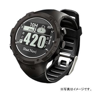 【割引クーポン配布 5/21 9:59迄】W1-GL-B テクタイト Shot Navi ブラック 腕時計型タイプ