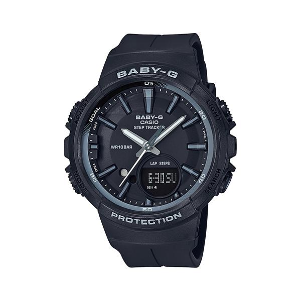 【割引クーポン配布 5/21 9:59迄】【新品】【国内正規品】CASIO/カシオ BGS-100SC-1AJF BABY-G -for running-STEP TRACKER 腕時計 ◆