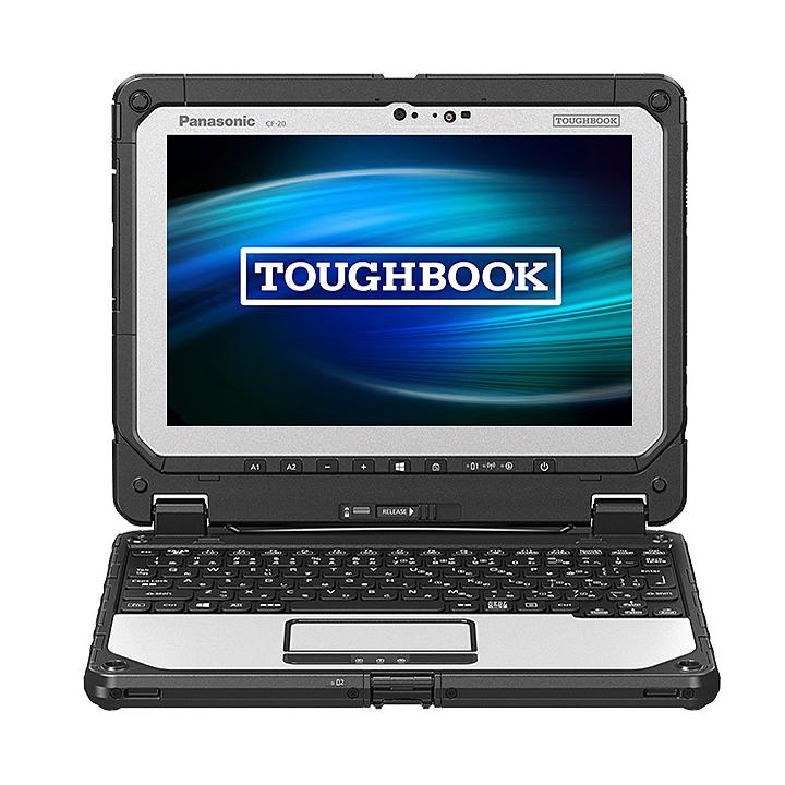 【最大5%クーポン配布中】CF-20E5193VJ パナソニック Panasonic TOUGHBOOK ワイヤレスWAN内蔵 Windows10 Pro 64ビット