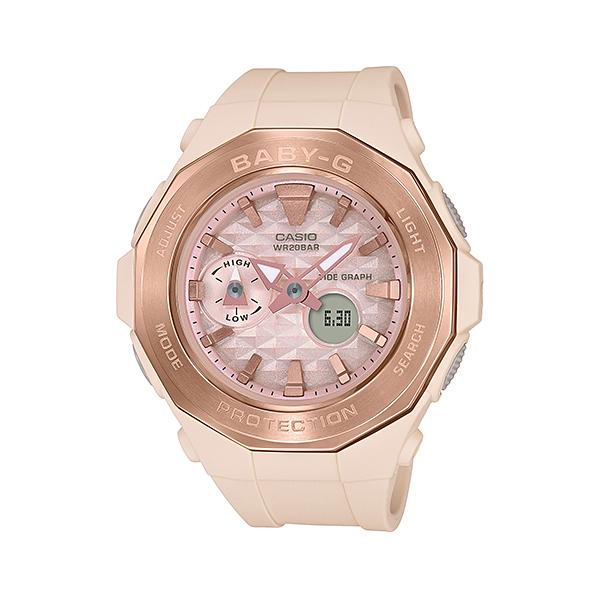 【割引クーポン配布 5/21 9:59迄】【新品】【国内正規品】CASIO/カシオ BGA-225CP-4AJF BABY-G Pink Beige Colors 腕時計 ◆