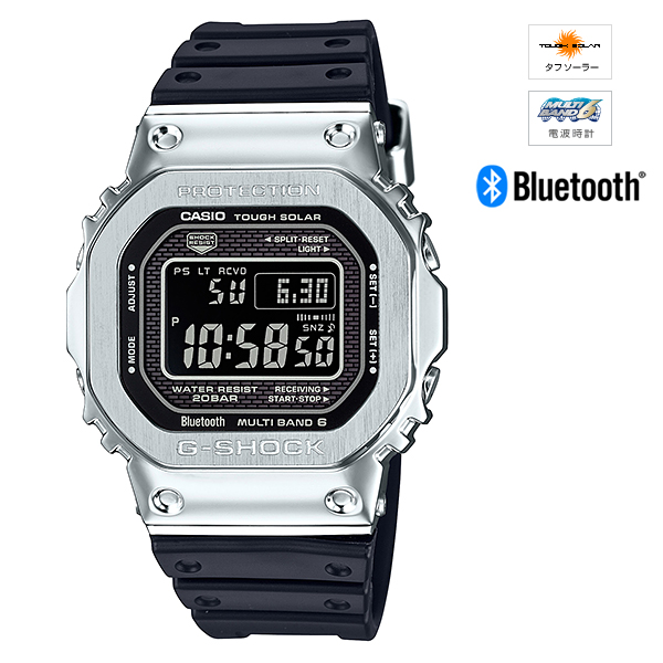 【最大1500円クーポン配布】【発売前予約】【新品】【国内正規品】CASIO/カシオ GMW-B5000-1JF G-SHOCK Bluetooth通信機能 腕時計 ◆