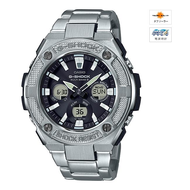 【新品】【国内正規品】CASIO/カシオ GST-W330D-1AJF G-SHOCK G-STEEL ソーラー電波時計 腕時計 ◆