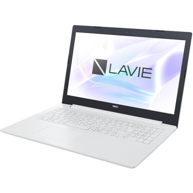 【17周年クーポン配布中 2/28 9:59迄】PC-GN187FDLD-H7 NEC LAVIE Direct NS(Core i7-8550U/15.6FullHD/MEM8GB(4GBx2)/HDD500GB/SM/WL/Win10Pro/OfficeHome&Business2016)/Bluetoothマウス/カームホワイト)