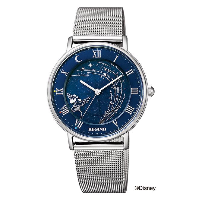 【割引クーポン配布 5/21 9:59迄】KP3-112-71 シチズン時計 REGUNO ソーラーテック Disney 100周年 腕時計 ◆
