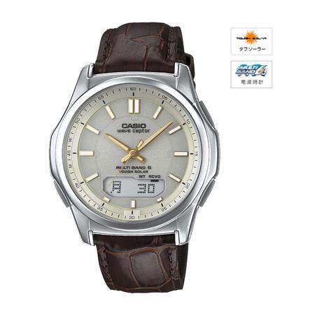 【最大5%クーポン配布中】WVA-M630L-9AJF カシオ計算機 CASIO wave ceptor ソーラー電波時計 腕時計 ◆