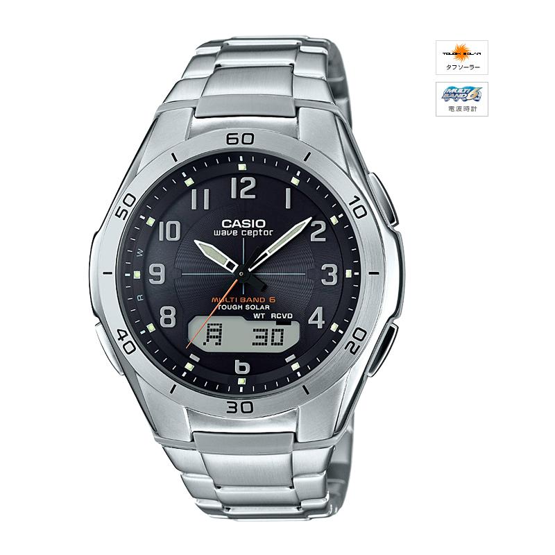 【最大5%クーポン配布中】WVA-M640D-1A2JF カシオ計算機 CASIO wave ceptor ソーラー電波時計 腕時計 ◆