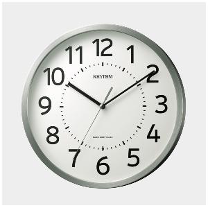 5%OFFクーポン配布中 8MY508SR19 リズム時計工業 フィットウェーブM508 掛時計 電波時計