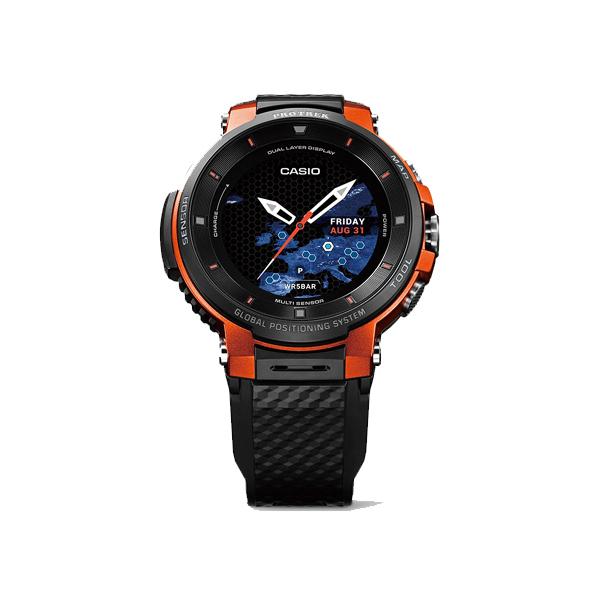 【割引クーポン配布 5/21 9:59迄】【数量限定】 WSD-F30-RG カシオ計算機 CASIO プロトレック スマート PROTREK Smart (Smart Outdoor Watch / スマートアウトドアウオッチ) オレンジ 腕時計