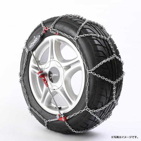 【最大5%クーポン配布中】CLM-102 KONIG コーニック タイヤチェーン 金属 CL MAGIC シーエル マジック 10mmリンク