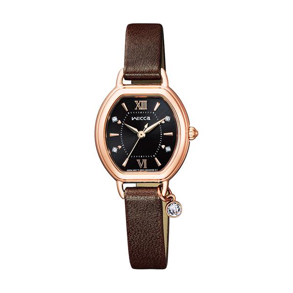 【最大5%クーポン配布中】KP2-566-90 シチズン時計 wicca(ウィッカ) ソーラーテック Sweet Collection 限定モデル 腕時計
