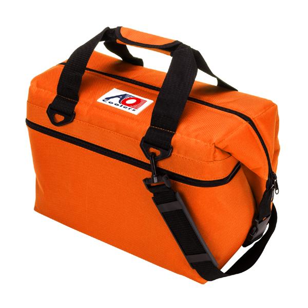 AOクーラーズ 24パックキャンパスソフトクーラー オレンジ クーラーバッグ クーラーボックス アウトドア 折り畳み 保冷 正規品 AO24OR 【あす楽/土日祝対象外】