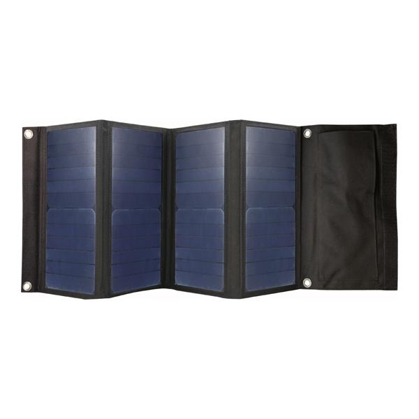 【最大5%クーポン配布中】KD-206 カシムラ ソーラーパネル アウトドア 停電 災害 屋外 レジャー 折り畳み可能 パワーストレージ(別売品:KD-205)への充電可能