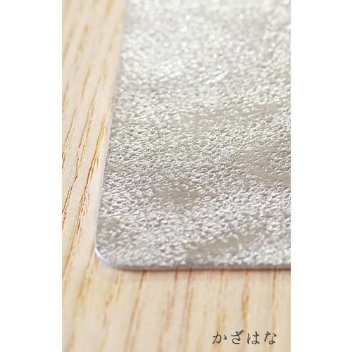 【最大5%クーポン配布中】12242401 シマタニ昇龍工房 syouryu すずがみ 24×24(cm) かざはな 食器 お皿 曲がる錫の器 プレゼント ギフト
