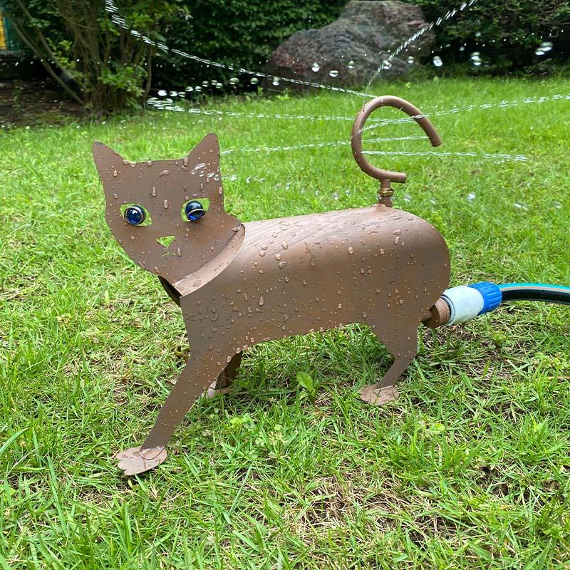 16040 FLOPRO フロープロ スプリンクラー キャット 入荷予定 ネコ 期間限定の激安セール CAT 猫 コネクタ別売 SPRINKLER ガーデンスプリンクラー 散水範囲直径9m