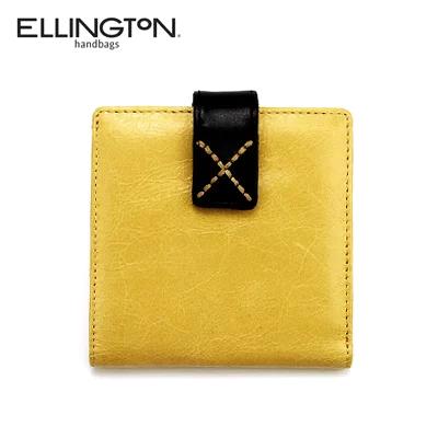 エリントン 限定特価 Ellington 二つ折り NEW ARRIVAL 財布 レザー イエロー アウトレット ユニセックス 3634ye あす楽