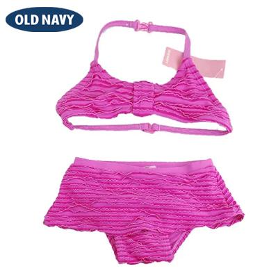 アウトレットセール 特集 オールドネイビー OLD NAVY 水着 ビキニ ガールズ 女の子 アウトレット メール便可 世界の人気ブランド ピンク