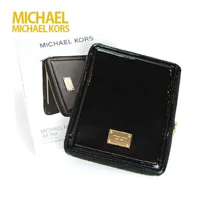 iPadケース マイケルコース MICHAEL KORS iPad ケース カバー アイパッドケース ブランド買うならブランドオフ iPad4 iPad2 iPad1 あす楽 人気商品 ブラック Air iPad3