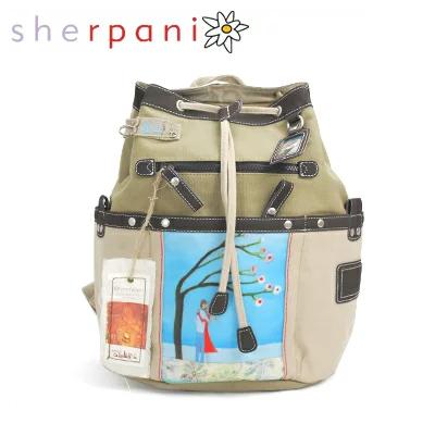 シェルパニ sherpani 激安挑戦中 リュックサック NEW ARRIVAL バックパック あす楽 カーキ ベージュ アウトレット