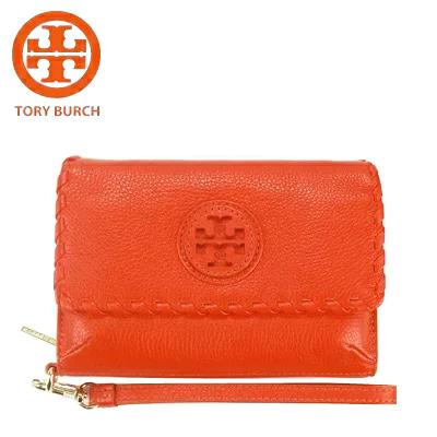 トリーバーチ TORY BURCH iPhoneケース スマホケース ウォレット 財布 アウトレットレ ディース オレンジ 送料無料