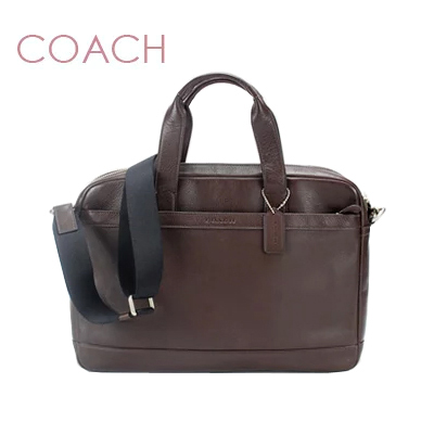 fe553b1ee7 Coach COACH bag men briefcase 2way Hudson's mousse leather (mahogany)  f71561mah () commuting business university student finding employment work  ...