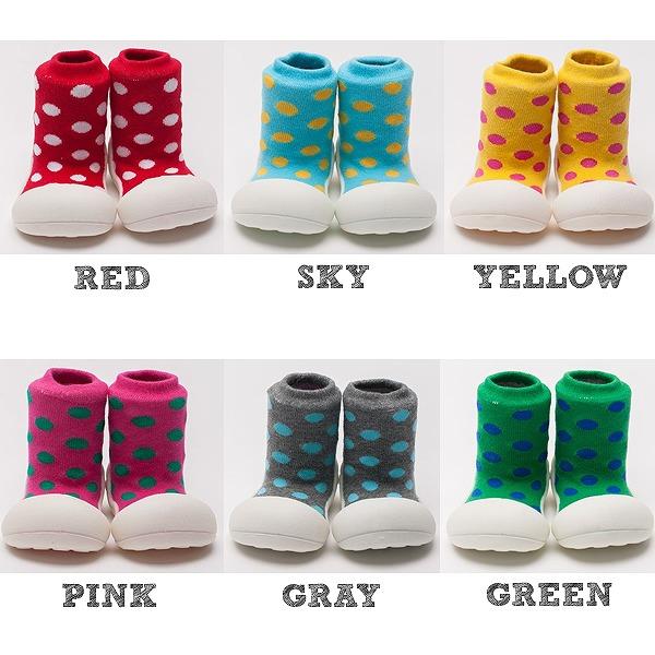 dc248694ef36 Santnarna  Attipas  アティパス  baby shoes  polka dots  1 year old birthday  present first shoes baby shoes baby shoes