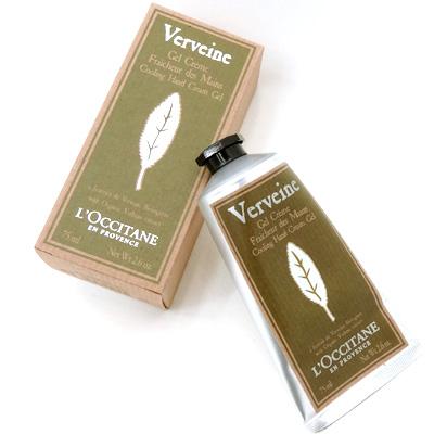 手数料無料 フレッシュで爽やかな柑橘系の香り 送料込 ロクシタン L'OCCITANE ヴァーベナ 75ml ジェル アイスハンドクリーム