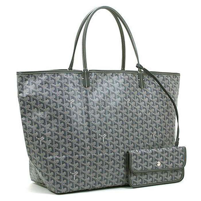 ゴヤール GOYARD サンルイGM SANT LOUIS GM AMALOUIS(GM):グレー