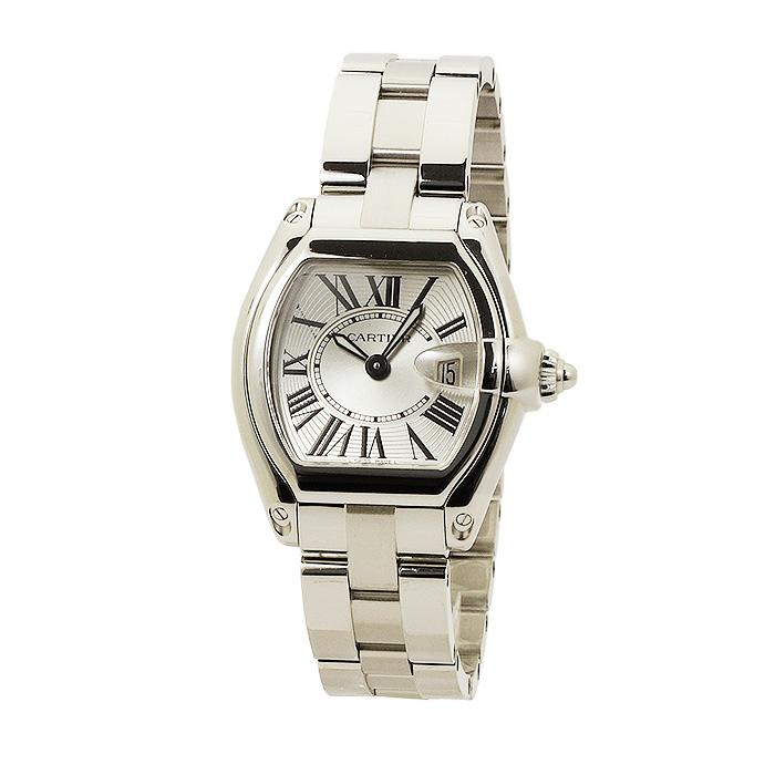 カルティエ Cartier ロードスター レディース W62016V3 シルバー 時計/ウォッチ カルチェ