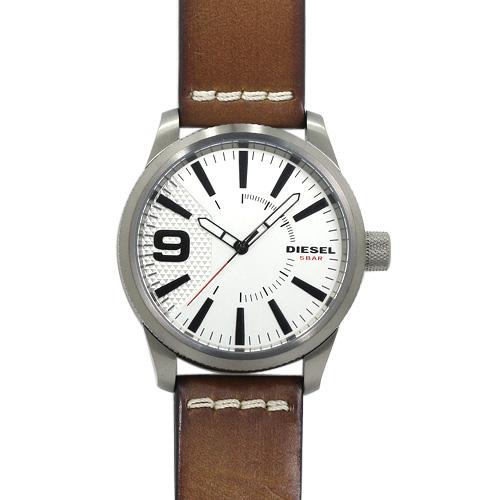 ディーゼル DIESEL ラスプ RASP メンズ 時計 ウォッチ DZ1803 ホワイトシルバー文字盤