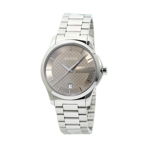 グッチ GUCCI YA126445 G-タイムレス メンズ ブラウン 時計/ウォッチ