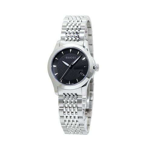 グッチ GUCCI G-タイムレス YA126502 レディース ブラック 時計/ウォッチ